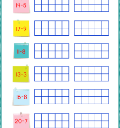 Ten Frame Worksheets - Ten Frames - 10 Frames (Counting [ 1403 x 992 Pixel ]