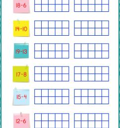 Ten Frame Worksheets - Ten Frames - 10 Frames (Counting [ 1403 x 992 Pixel ]