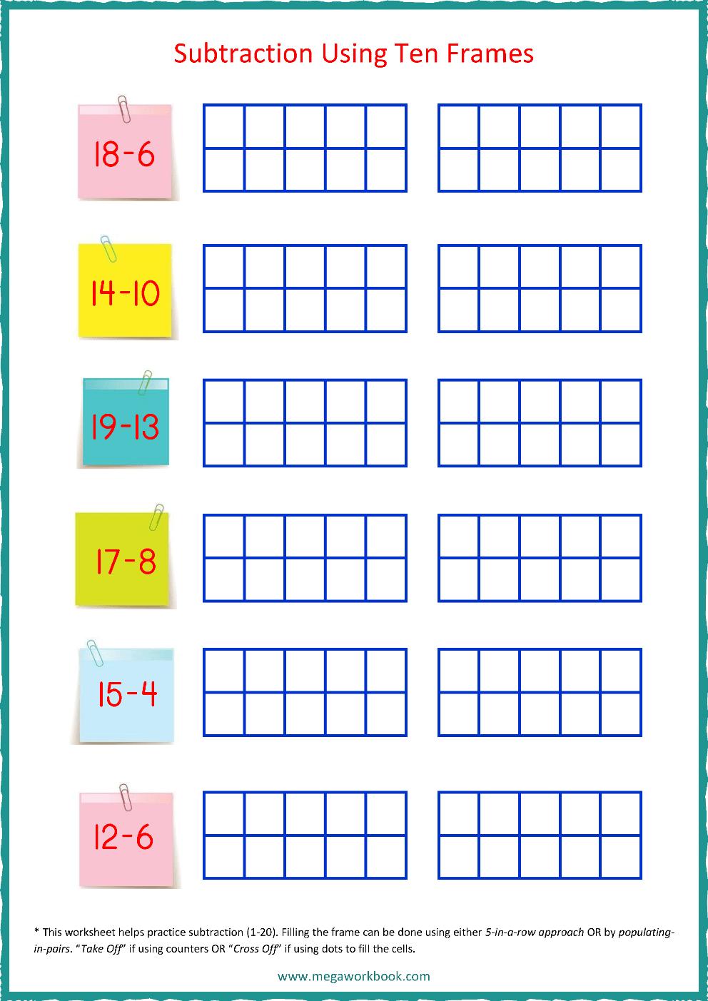 hight resolution of Ten Frame Worksheets - Ten Frames - 10 Frames (Counting