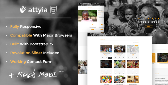 Is Attyia really the best NGO WordPress theme out there right now?