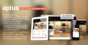 Read more about the article Aplus – Multipurpose WordPress Theme