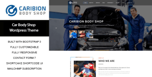Caribion – WP Theme for Car Mechanic and Repair shop