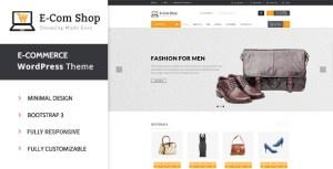 eCom – Responsive WooCommerce WordPress Theme