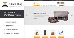 Read more about the article eCom – Responsive WooCommerce WordPress Theme