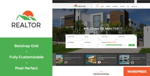 Realtor – Responsive Real Estate WordPress Theme