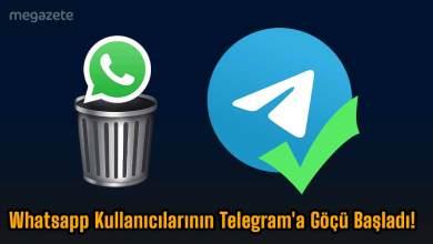 Photo of Whatsapp Kullanıcılarının Telegram'a Göçü Başladı! #WhatsAppSiliyoruz