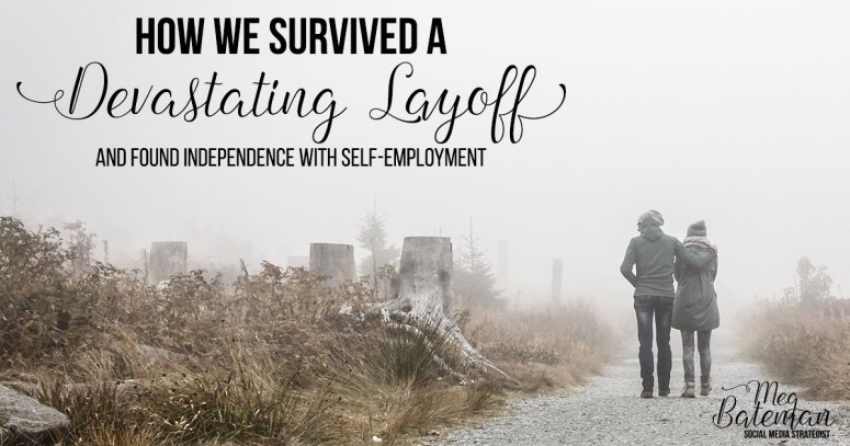 My husband was laid off suddenly and unexpectedly – but we managed to survive that devastating layoff and find independence with self-employment! Here's how you can start a new career from scratch as a virtual assistance or any other telecommuting position!