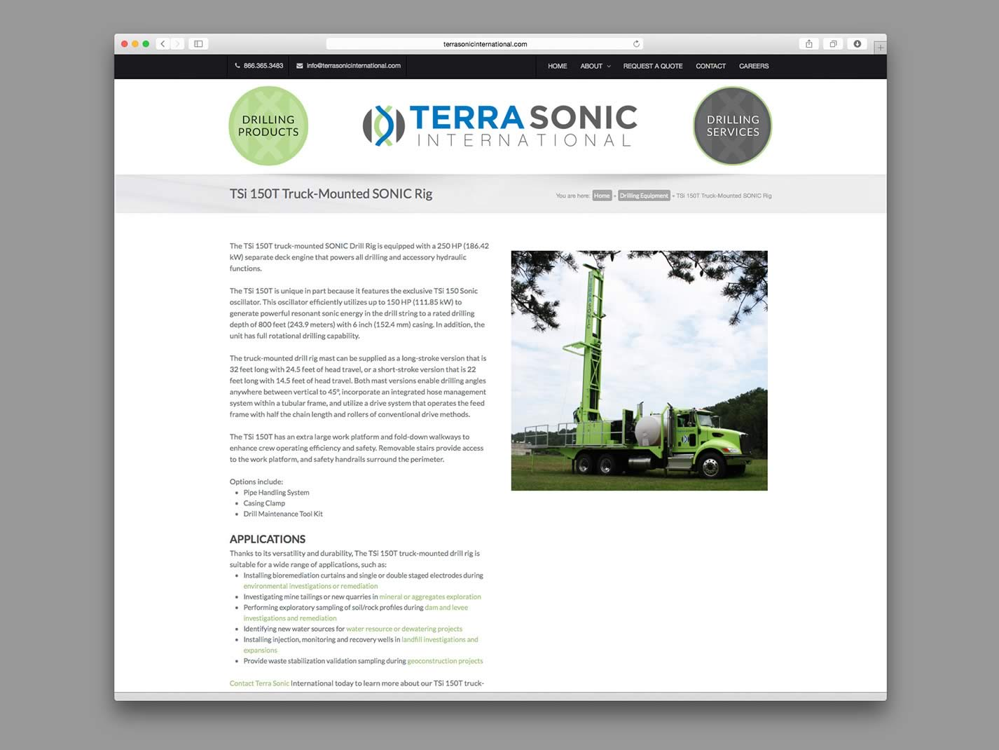 Terra Sonic International Website
