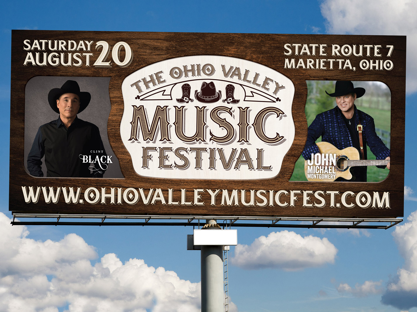 The Ohio Valley Music Festival Branding