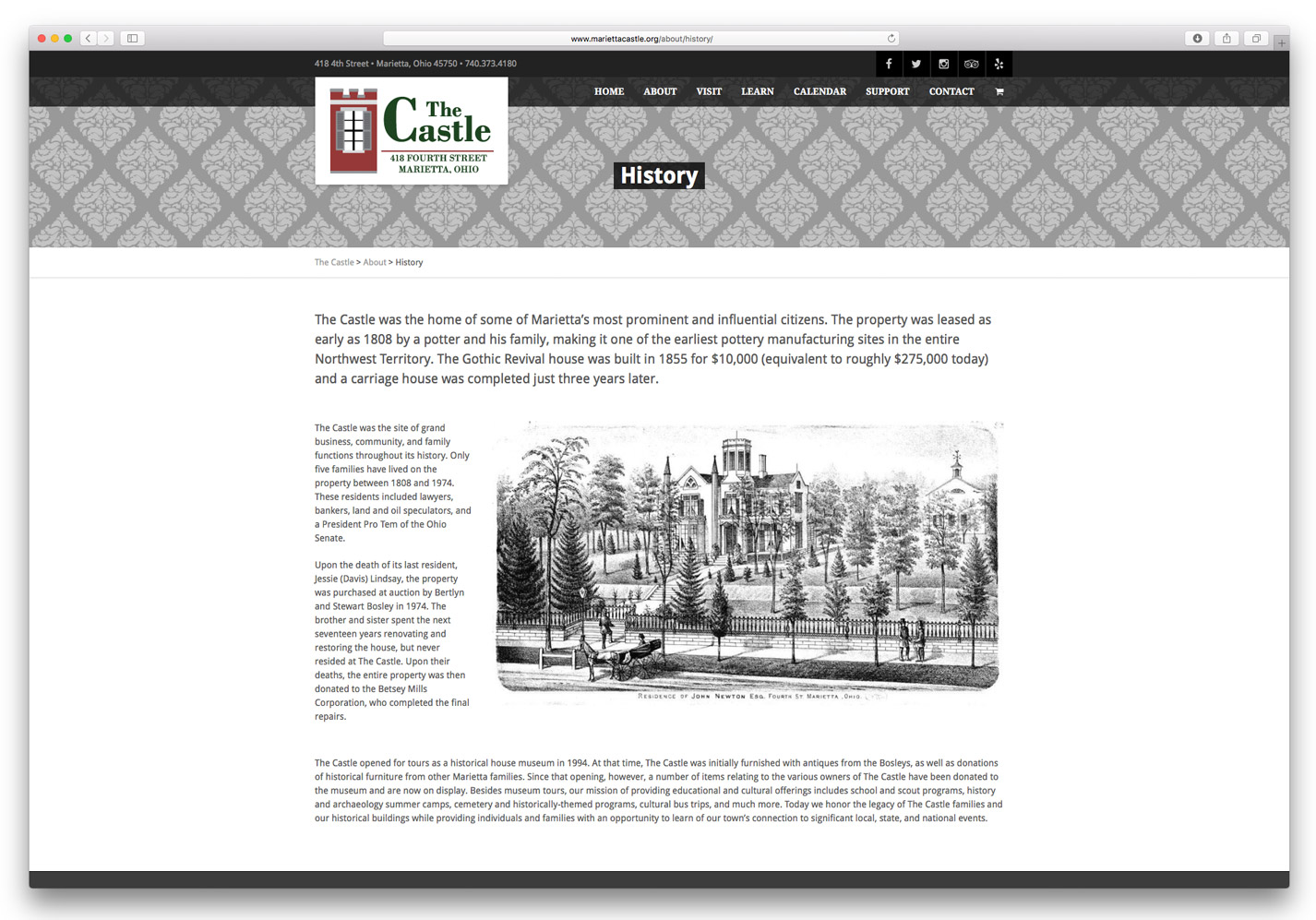 The Castle Website