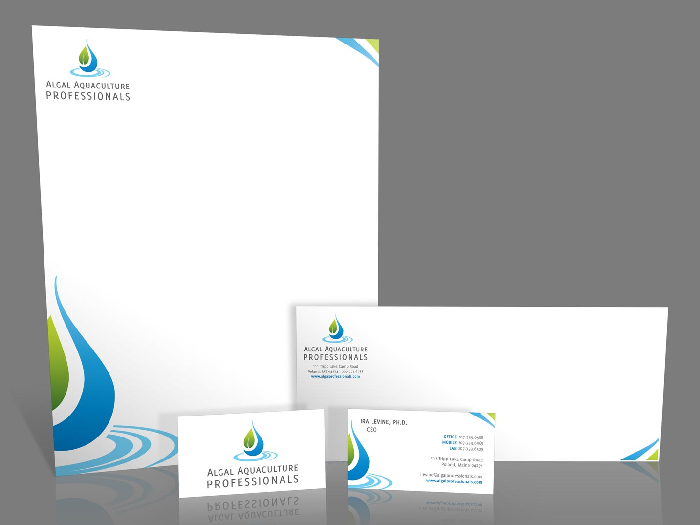 Algal Aquaculture Professionals Branding