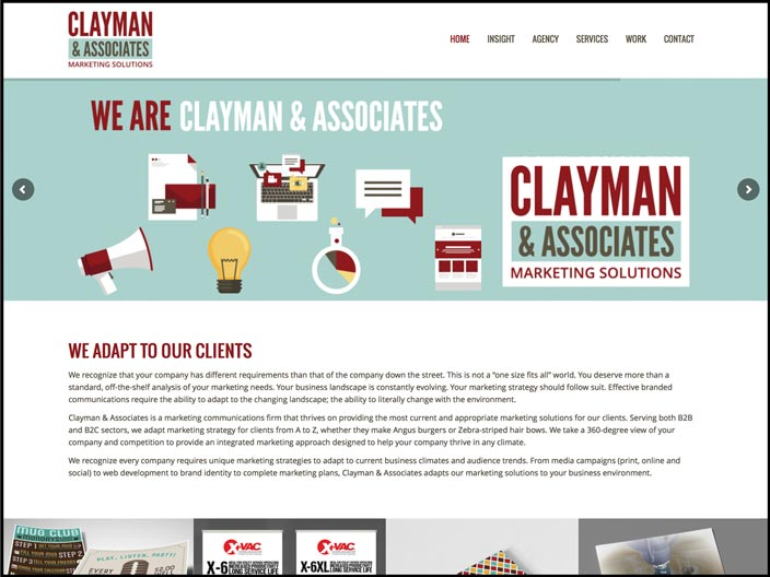 Clayman & Associates Website