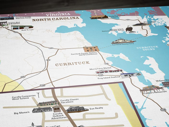 Currituck Map