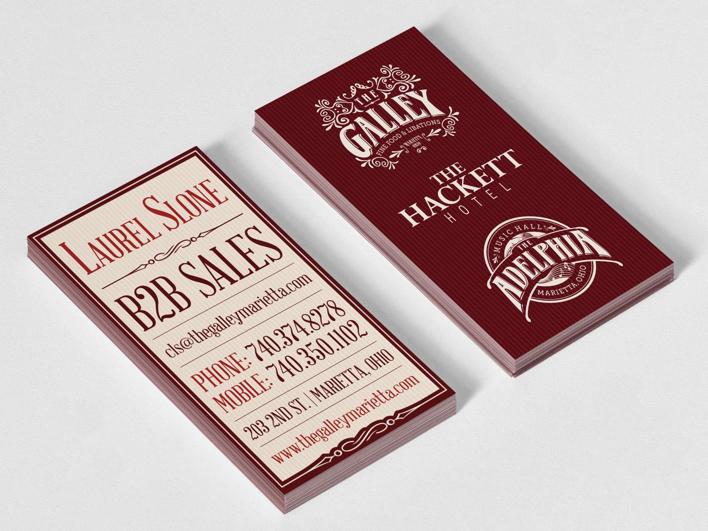 Galley Adelphia Hackett Branding