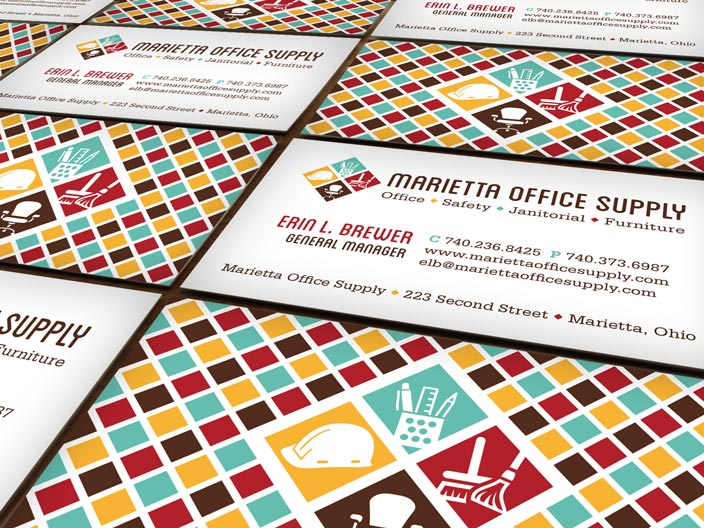 Marietta Office Supply Branding