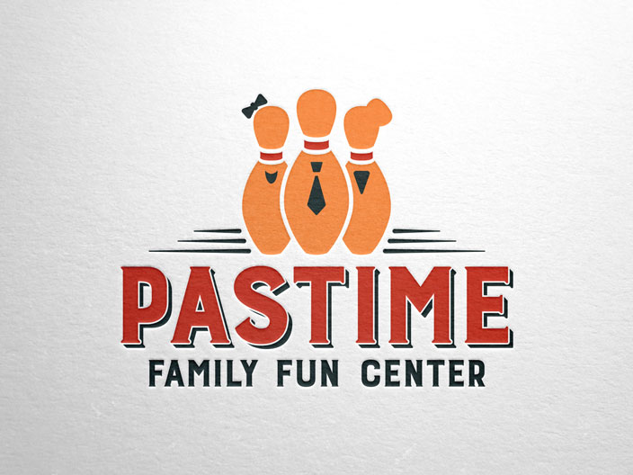 Pastime Family Fun Center Branding