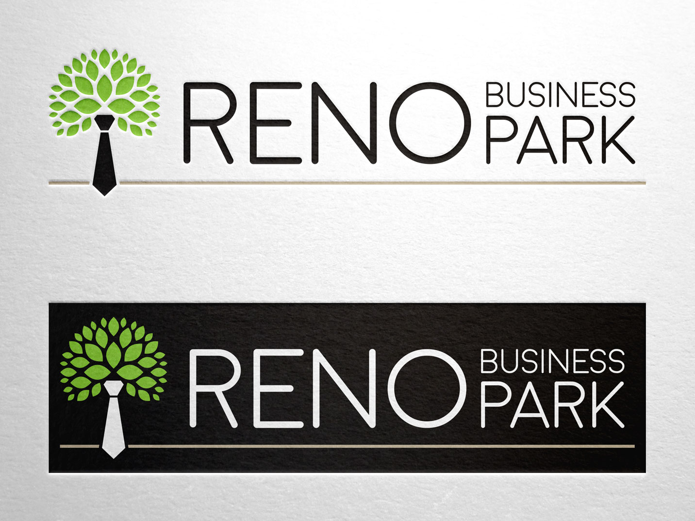 Reno Business Park Branding