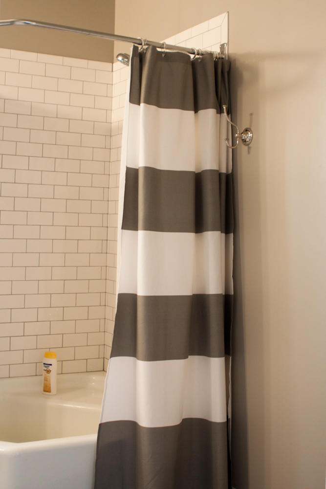 gray subway tile kitchen utensil holders the bathroom and a giveaway. » whatever