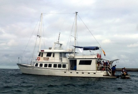 our boat: Golondrina I