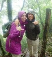 Cin and I luuuvvv the mud and rain