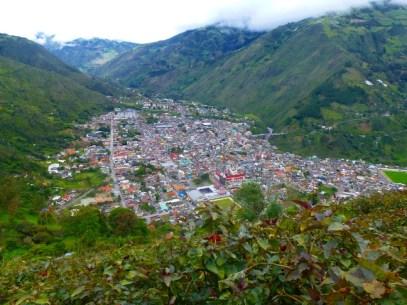 view from El Cruce Bella Vista -- a killer 45-minute hike