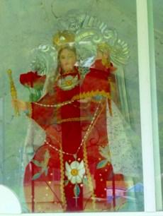 la Virgen de Agua Santa al Cruce