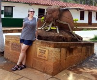 Stephanie and I started in Barichara (which she cannot say), home of the Princess Ants, ...