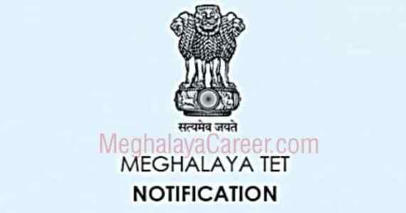 Meghalaya TET 2021 Notification Official