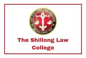 Shillong Law College Recruitment