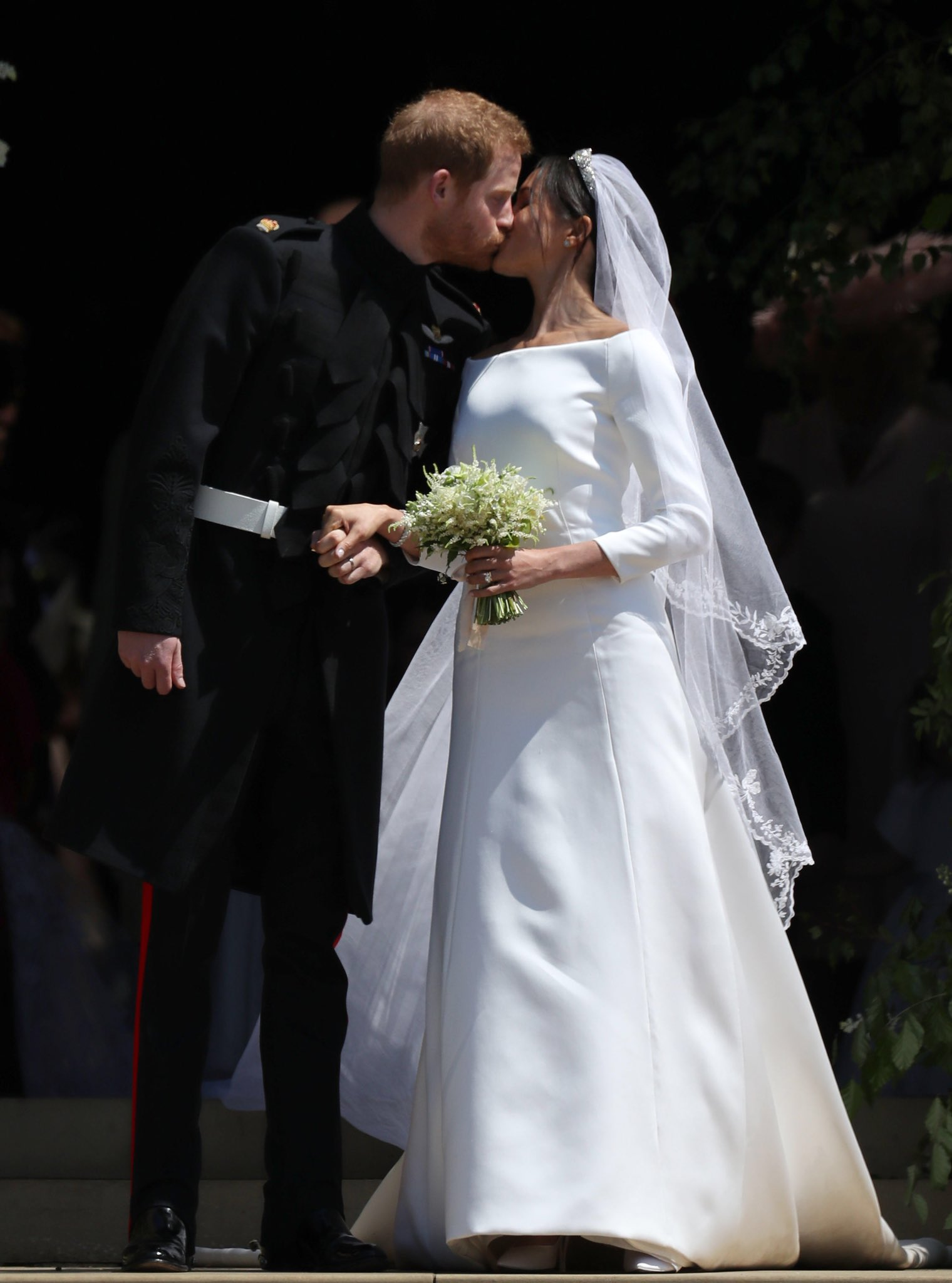Clare Waight Keller for Givenchy Wedding Gown  Meghans Mirror