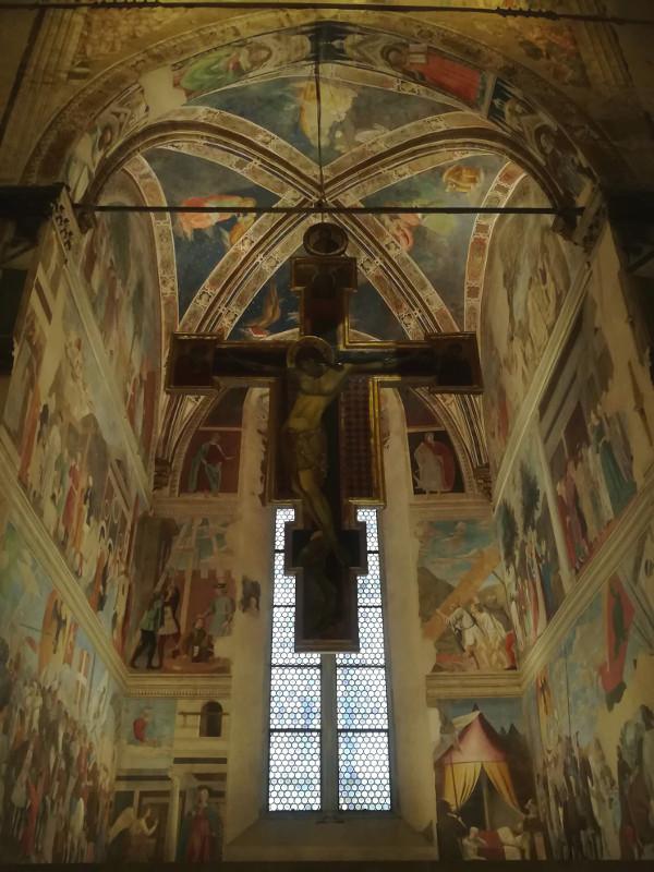 Arezzo Basilica di S. Francesco Crocifisso