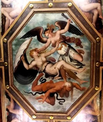 Arezzo Casa Vasari Virtù Fortuna e Invidia