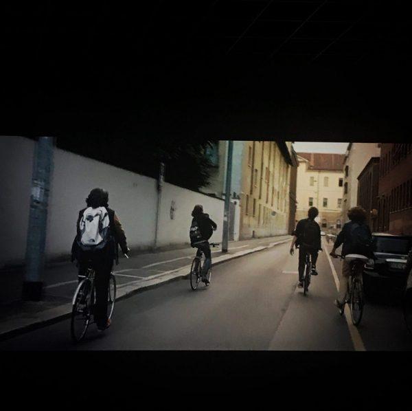 gli amici in bicicletta ne gli sdraiati cinema