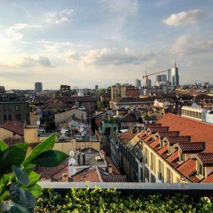 il rooftop di Milano alla Scala all'aperitivo