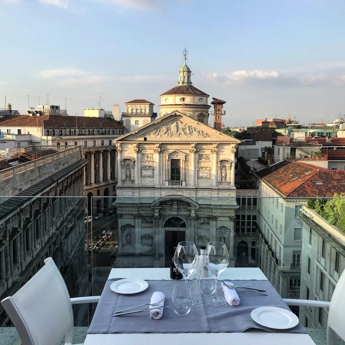 Una terrazza strepitosa a Milano TasteOnTop  megliounpostobello
