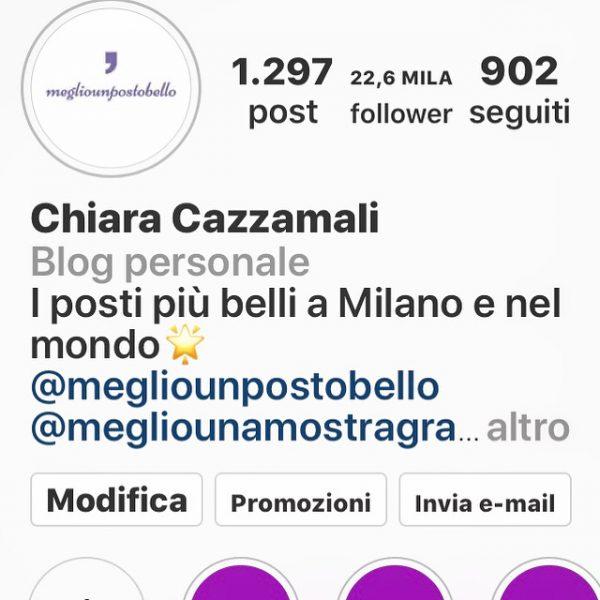 Megliounpostobello su Instagram