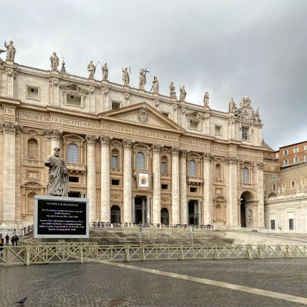Facciata Basilica San Pietro Roma