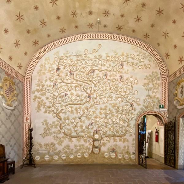 Albero genealogico al Castello Bolognini