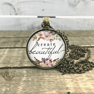 create beautiful bronze necklace by FiveArrows Jewelry