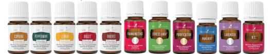 starter oils in kit