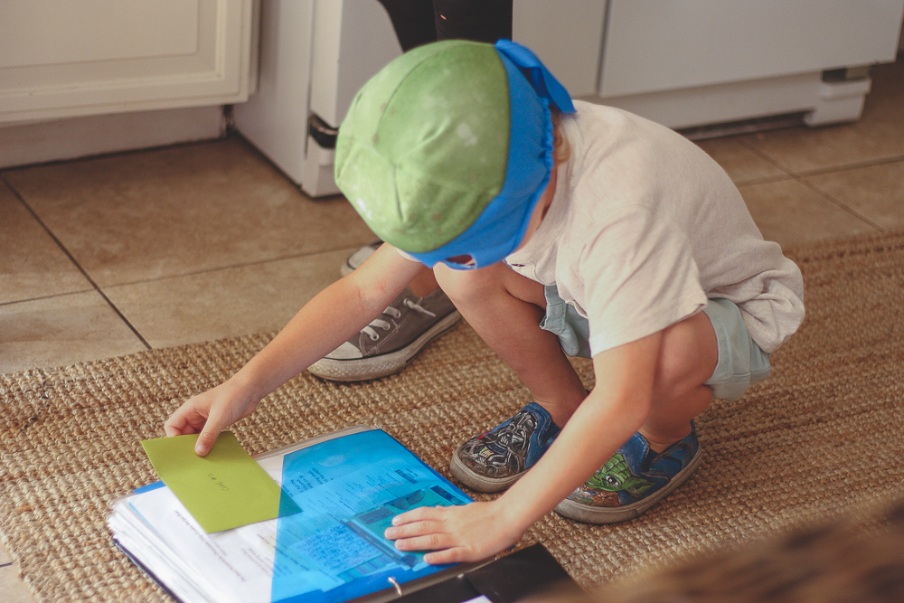 birthday boy and scavenger hunt | meg marie wallace | how to make a scavenger hunt