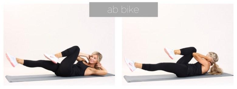 meg marie fitness | ab bike