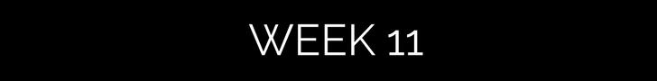 week 11 black