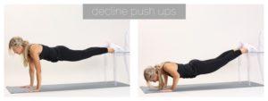 decline push ups