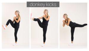 donkey kicks