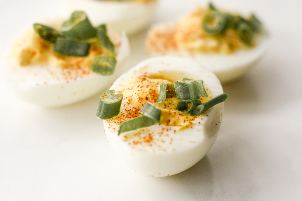 deviled eggs; week 4 recipe | meg marie fitness