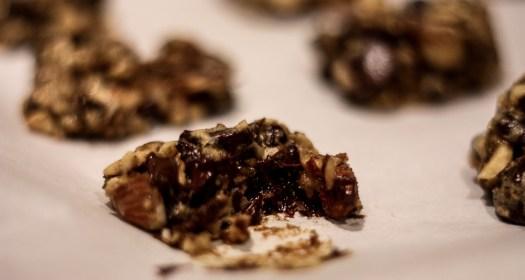 dark chocolate date cookies | meg marie wallace blog