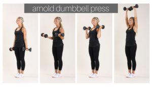 arnold dumbbell press