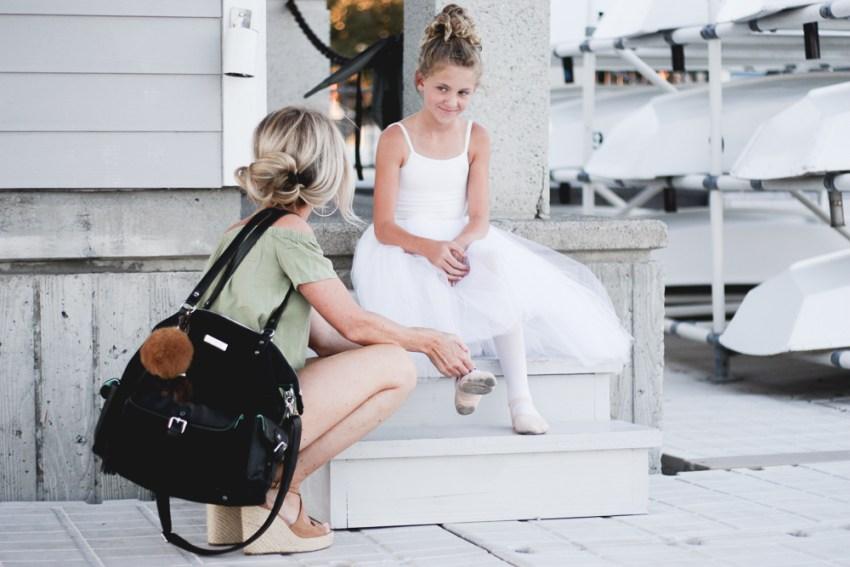lily jade | ballet | meg marie blog | diaper bag