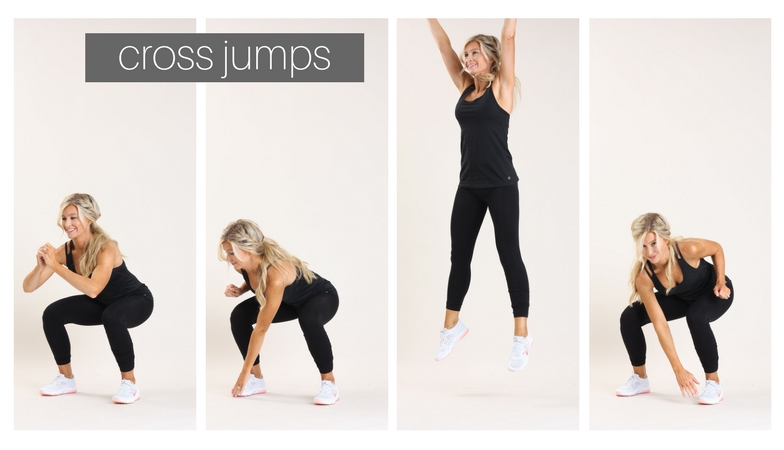 cross jumps | meg marie fitness | fit for a purpose